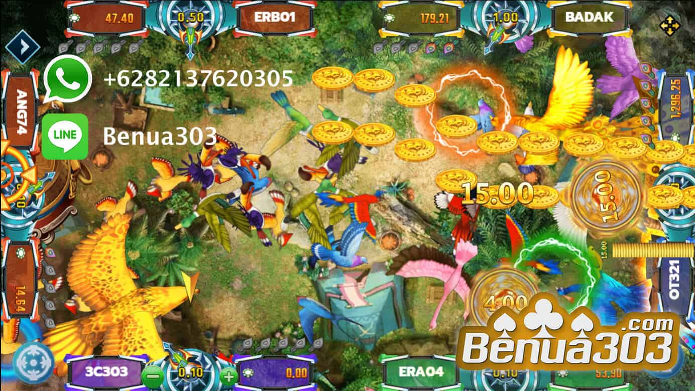 Mendapatkan x1000 Odds Bird Paradise Joker123