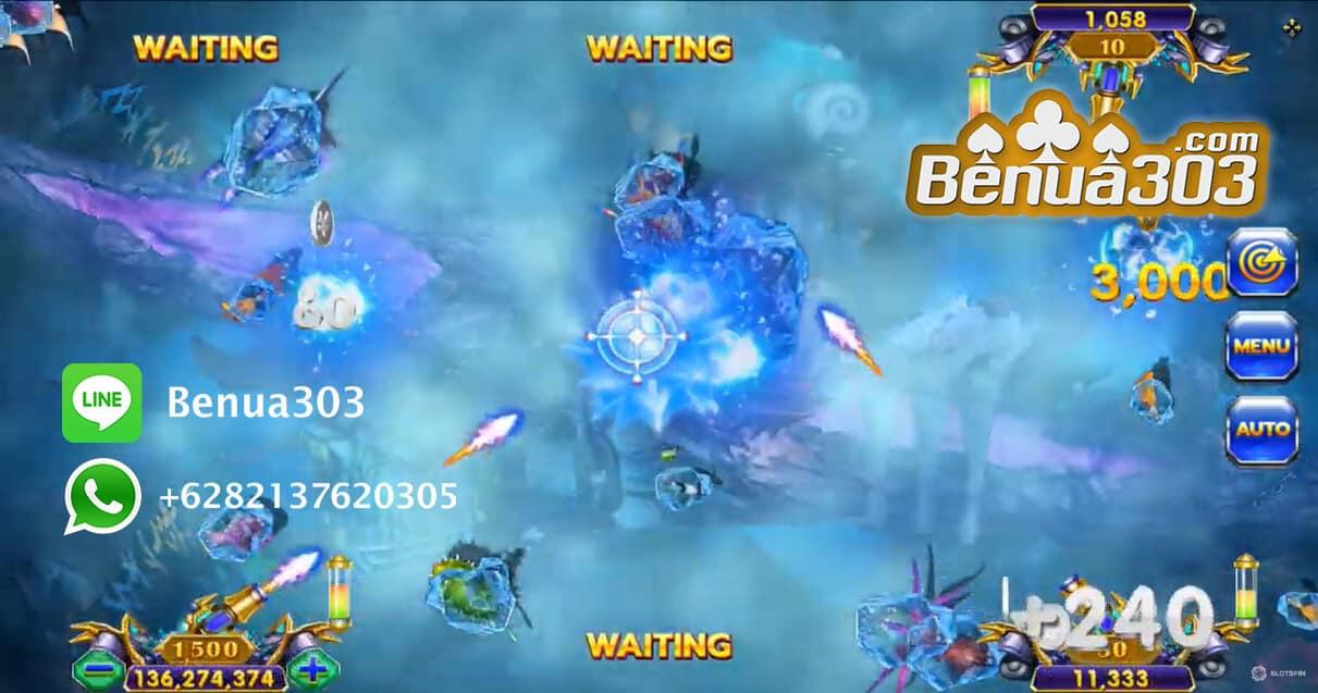 Senjata Boss Fish Hunter Haiba Online